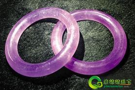 紫罗兰玻璃种翡翠价格随着翡翠的价格上升持续翻倍?