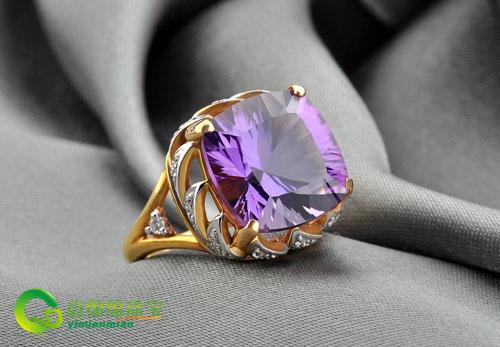 紫水晶戒指怎么样,紫水晶戒指的保养
