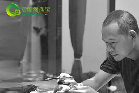 玉雕师陈华健,生动阐释自然的奥秘
