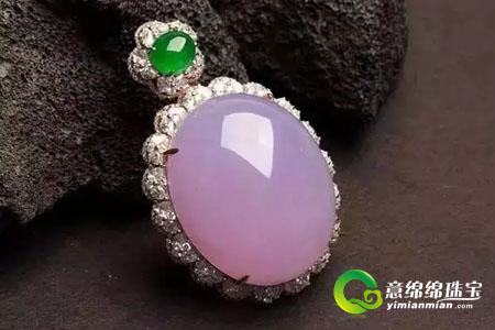 紫罗兰翡翠的象征意义,佩戴紫罗兰翡翠应该注意什么