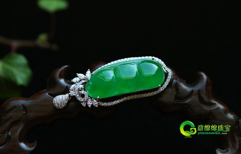 祖母绿 千山万水跋涉而来的梦幻琉璃