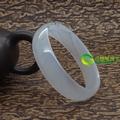 淡蓝的天然水草玛瑙手镯内径54mm