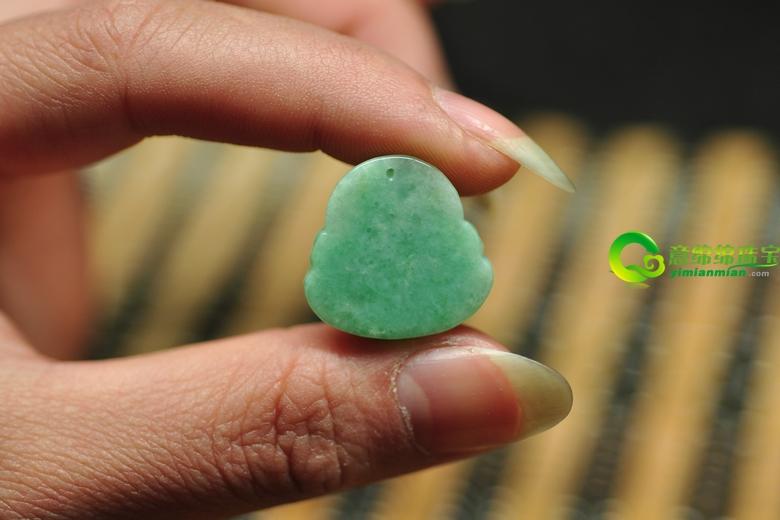 幸福安康缅甸天然龙8国际|app弥勒佛吊坠