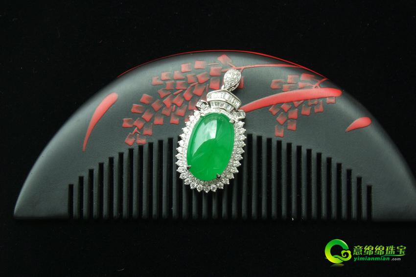 极具设计感 镶嵌翡翠饰品渐成珠宝市场新宠