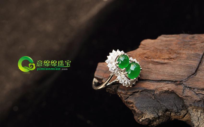 女性频道:翡翠镶嵌戒指的保养之道