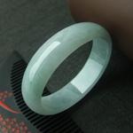 天然缅甸龙8国际|appA货冰糯种龙8国际|app贵妃手镯55.9mm