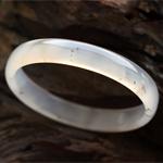 天然水草玛瑙手镯内径53.3mm