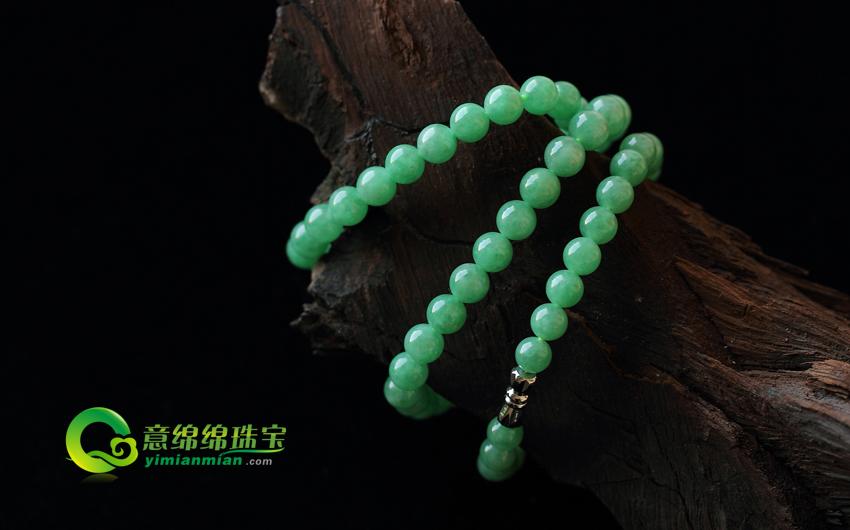 缅甸翡翠A货 来自大自然的保健品 人们佩戴的玉中佳品