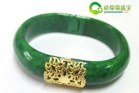 滿綠翡翠手鐲