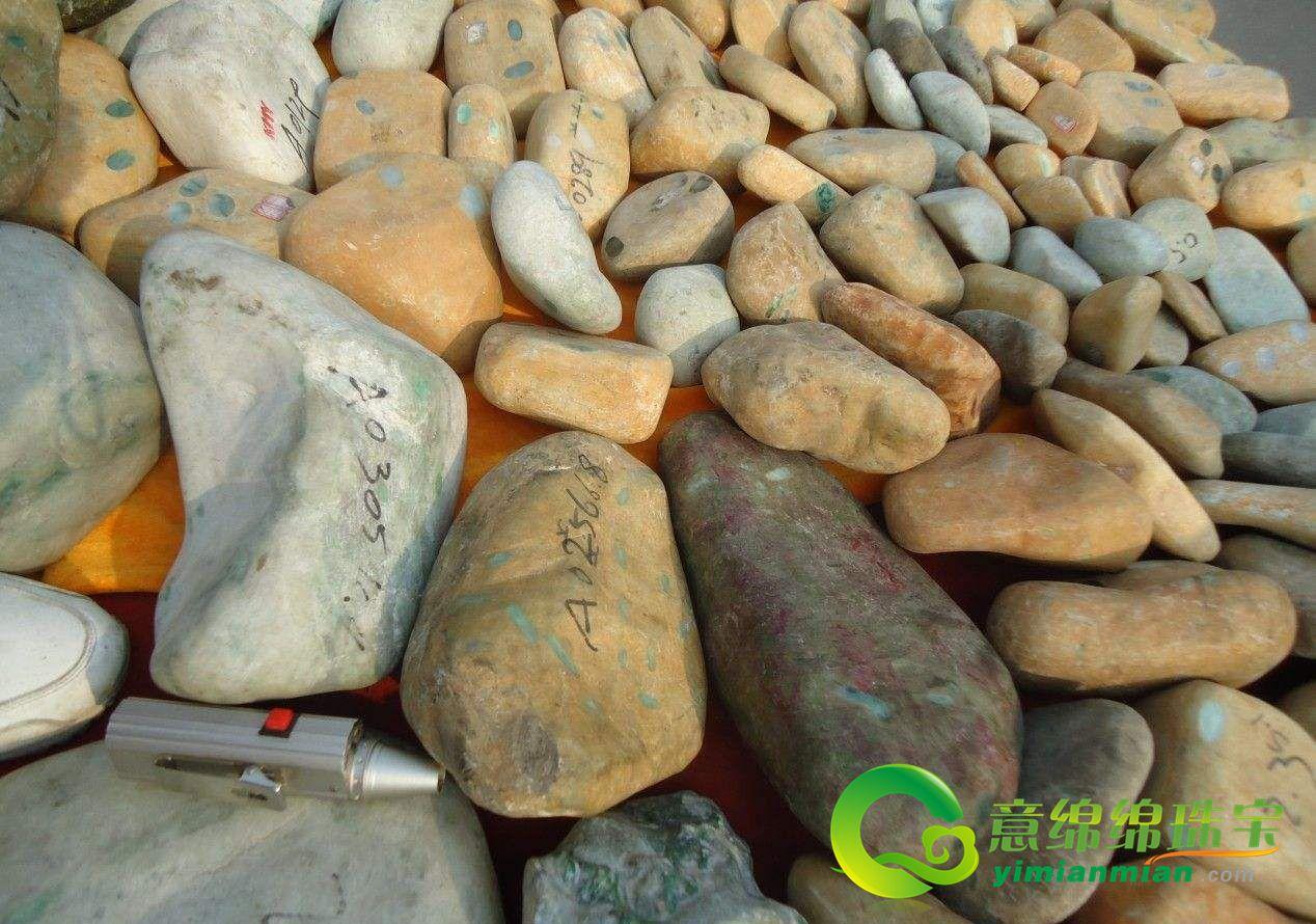 翡翠原石收藏投資